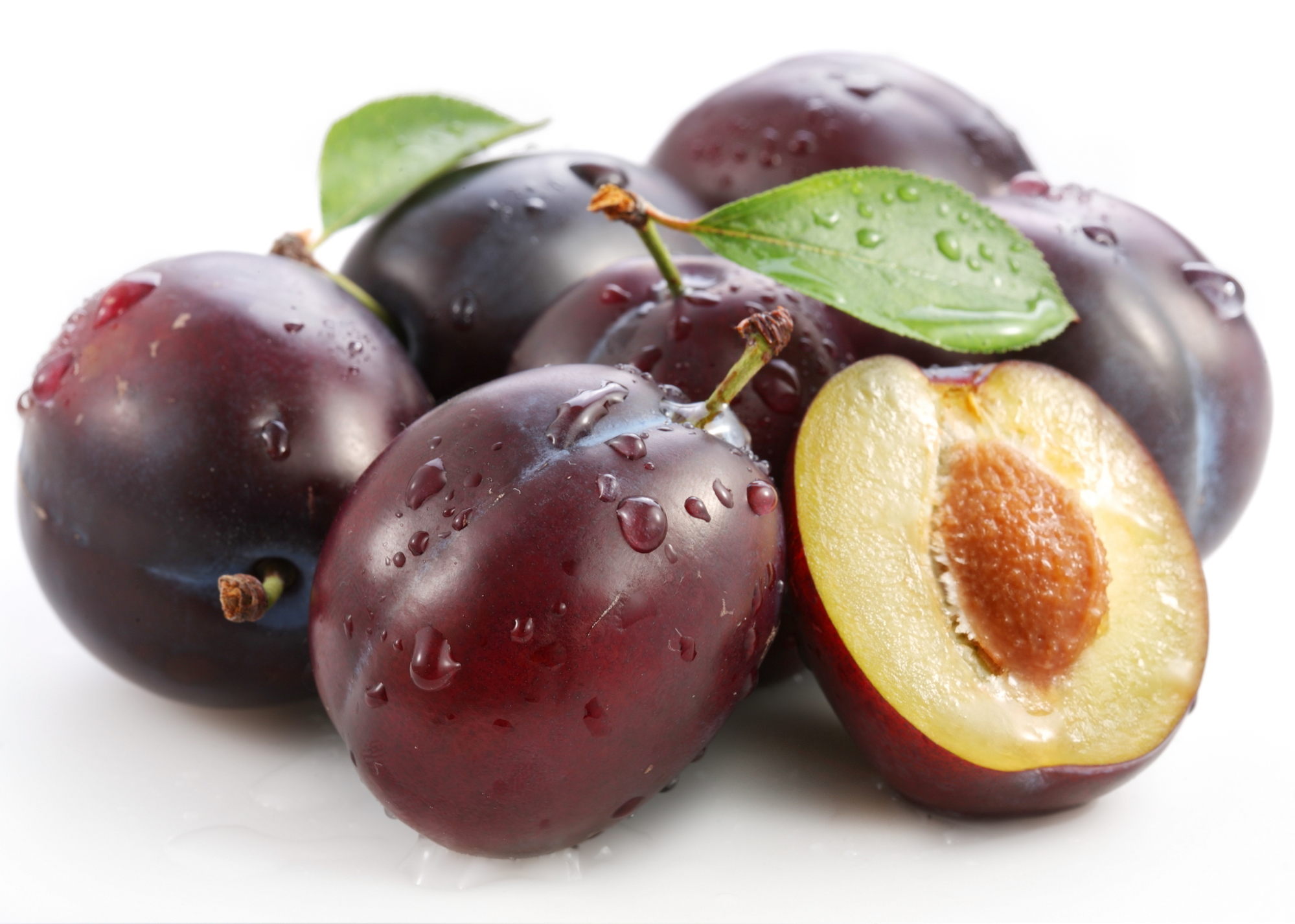 eat plums