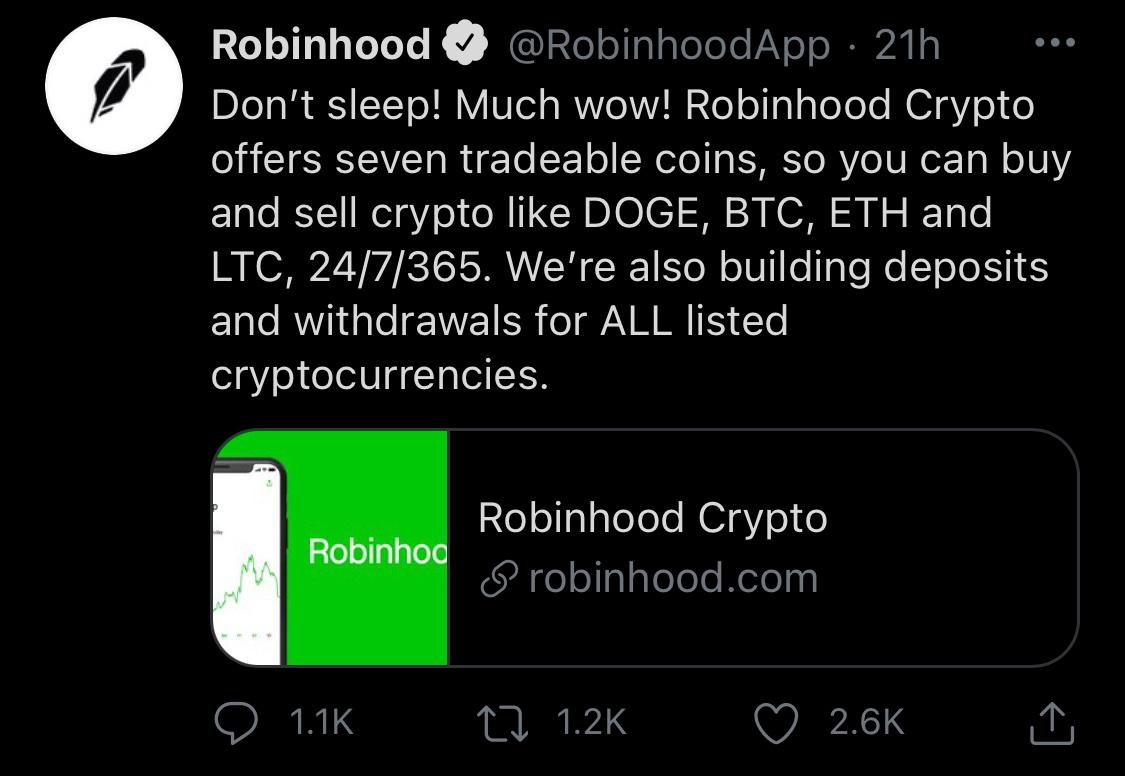 Loyal to Robinhood